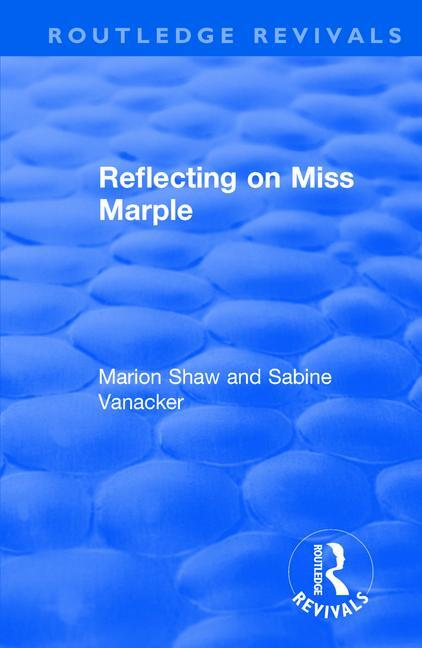 Reflecting on Miss Marple book cover