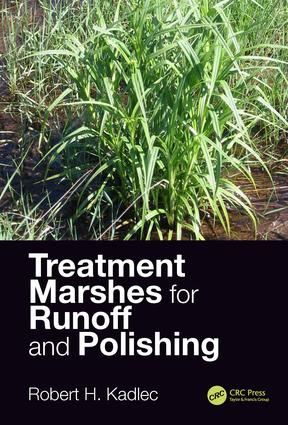 Treatment Marshes for Runoff and Polishing: 1st Edition (Hardback) book cover