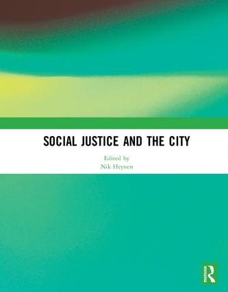 Social Justice and the City: 1st Edition (Hardback) book cover