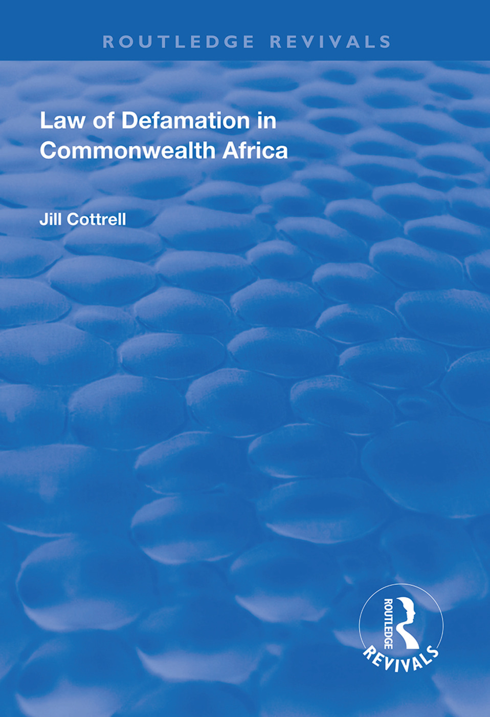 Law of Defamation in Commonwealth Africa book cover