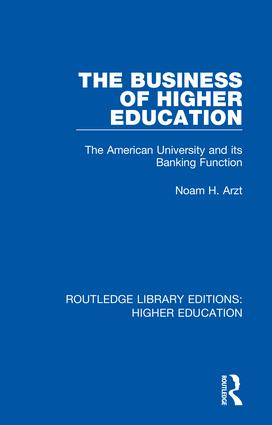 Routledge Library Editions: Higher Education book cover