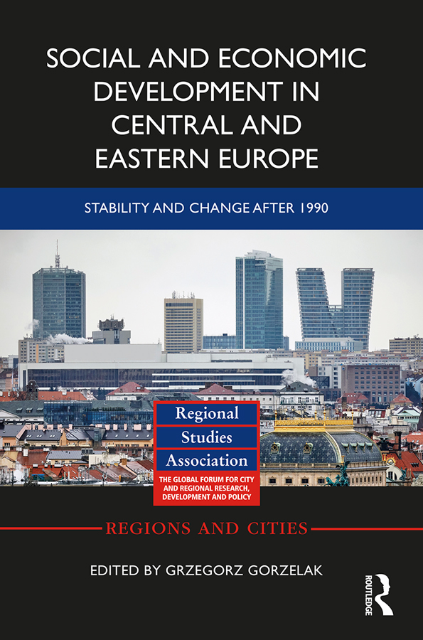 Social and Economic Development in Central and Eastern Europe: Stability and Change after 1990 book cover