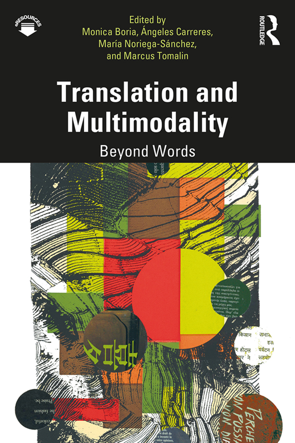 Translation and Multimodality: Beyond Words book cover
