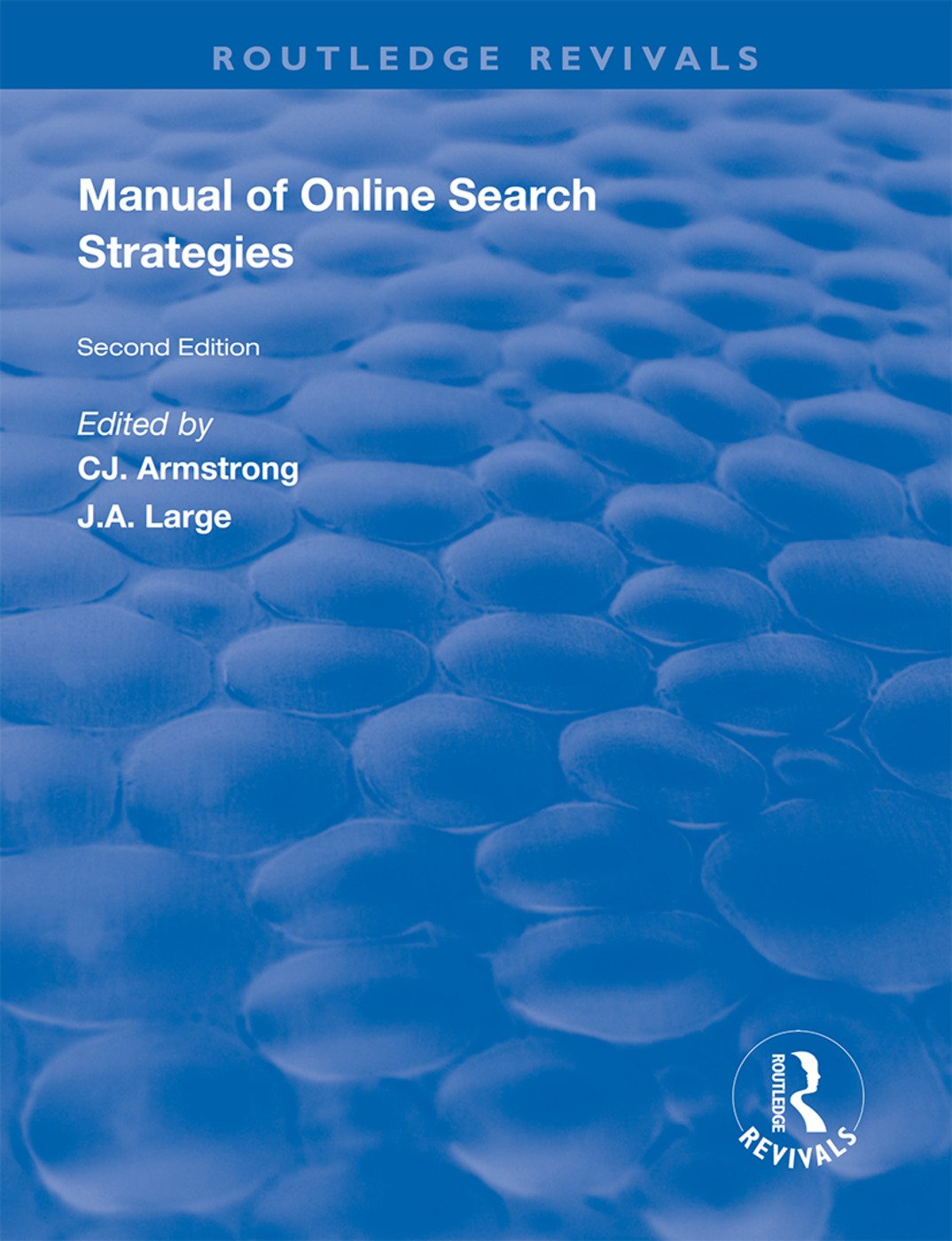 Manual of Online Search Strategies book cover