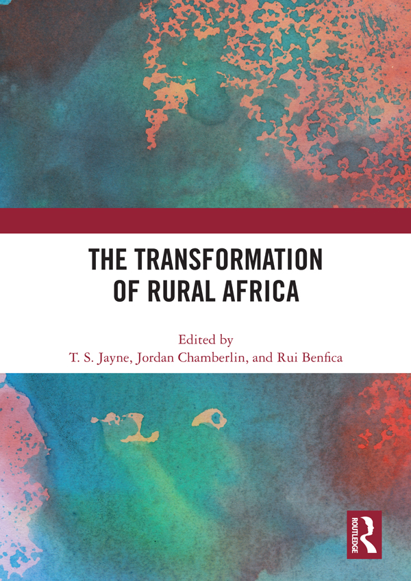 The Transformation of Rural Africa: 1st Edition (Hardback) book cover