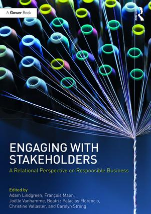Engaging With Stakeholders: A Relational Perspective on Responsible Business book cover