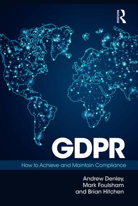 GDPR: How To Achieve and Maintain Compliance book cover