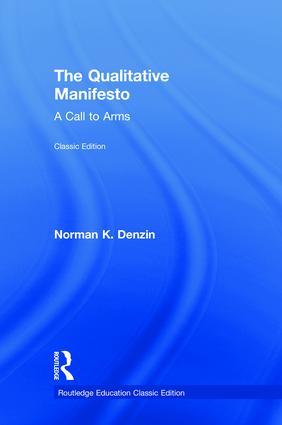 The Qualitative Manifesto: A Call to Arms book cover