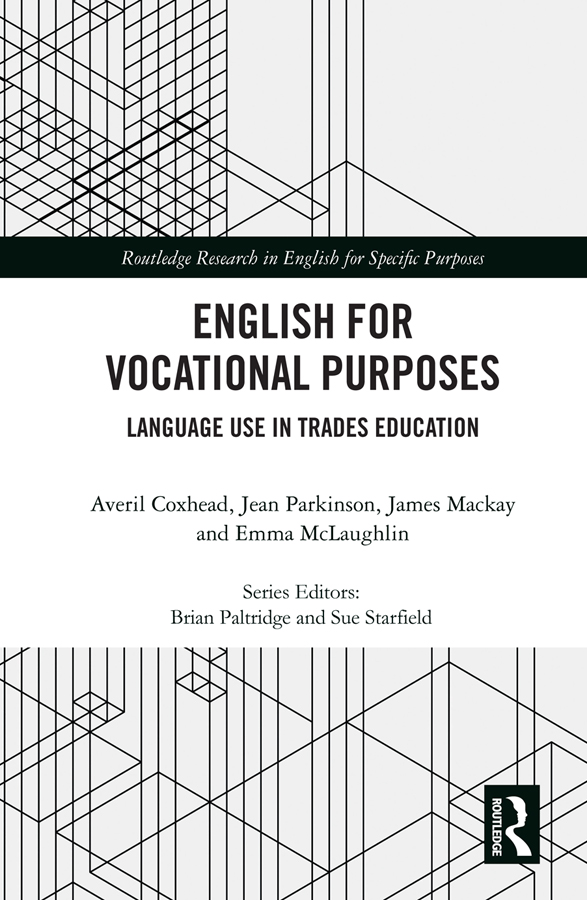 English for Vocational Purposes: Language Use in Trades Education book cover