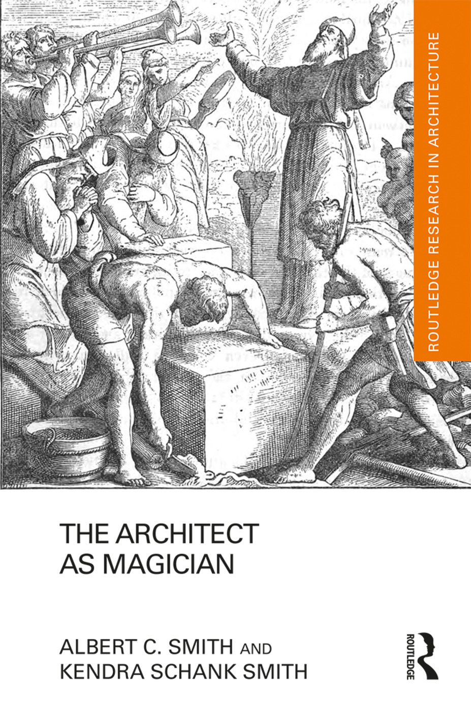 The Architect as Magician book cover
