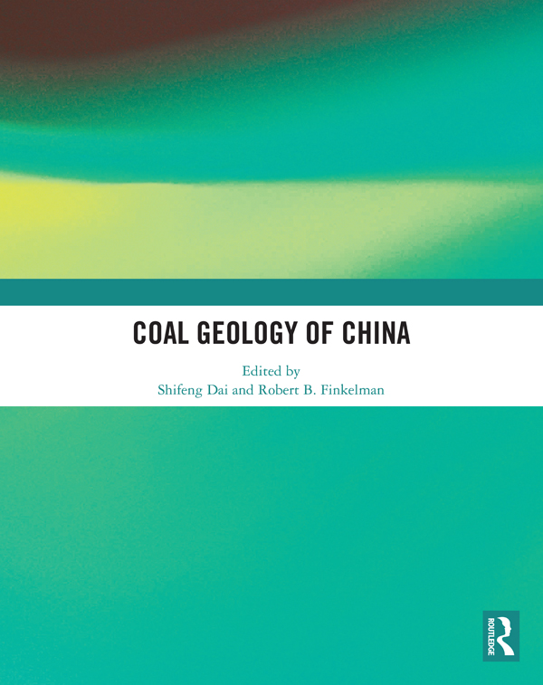 Coal Geology of China: 1st Edition (Hardback) book cover