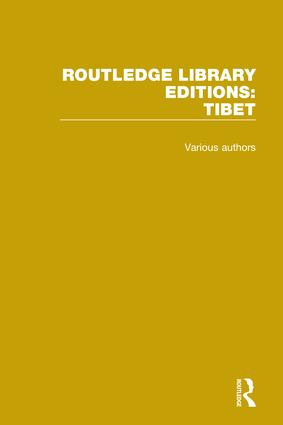 Routledge Library Editions: Tibet book cover