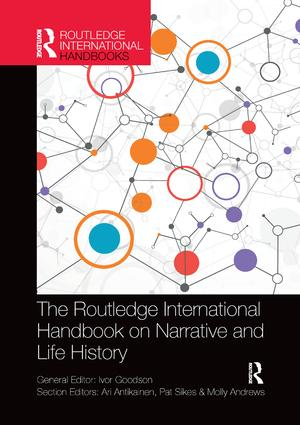 The Routledge International Handbook on Narrative and Life History book cover