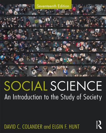 Social Science: An Introduction to the Study of Society, 17th Edition (Paperback) book cover