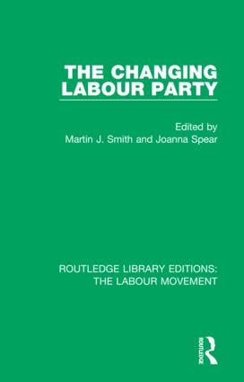 The Changing Labour Party book cover