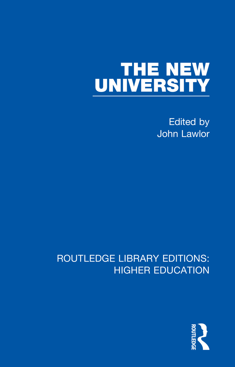 The New University book cover