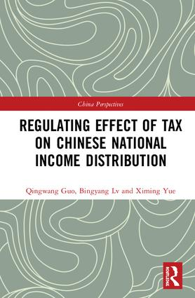 Regulating Effect of Tax on Chinese National Income Distribution book cover