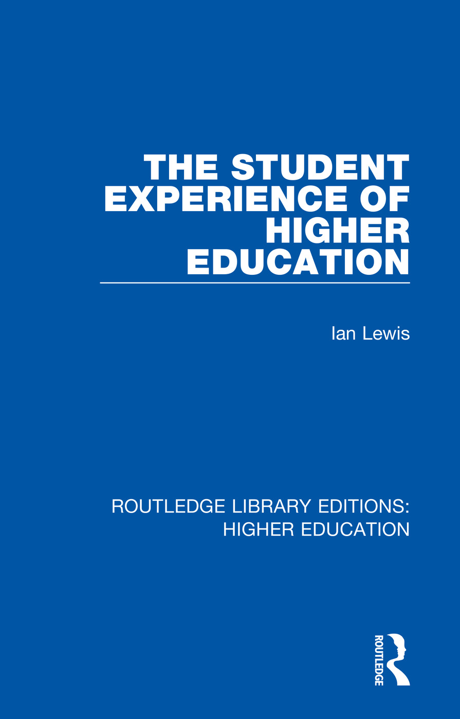 The Student Experience of Higher Education book cover