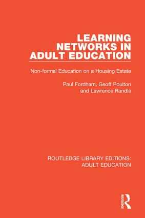 Learning Networks in Adult Education: Non-formal Education on a Housing Estate book cover