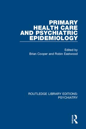 Primary Health Care and Psychiatric Epidemiology: 1st Edition (Hardback) book cover