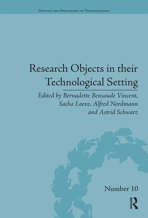Research Objects in their Technological Setting book cover
