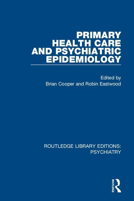 Primary Health Care and Psychiatric Epidemiology