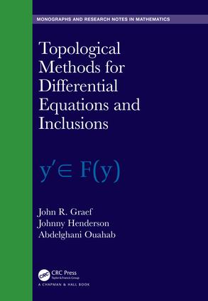 Topological Methods for Differential Equations and Inclusions: 1st Edition (Hardback) book cover