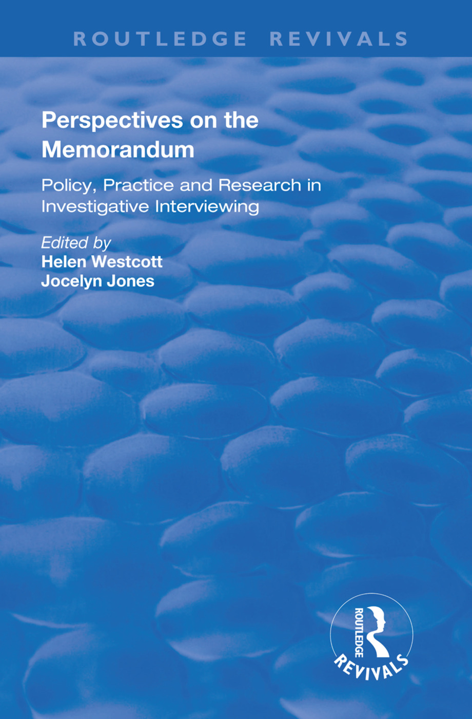 Perspectives on the Memorandum