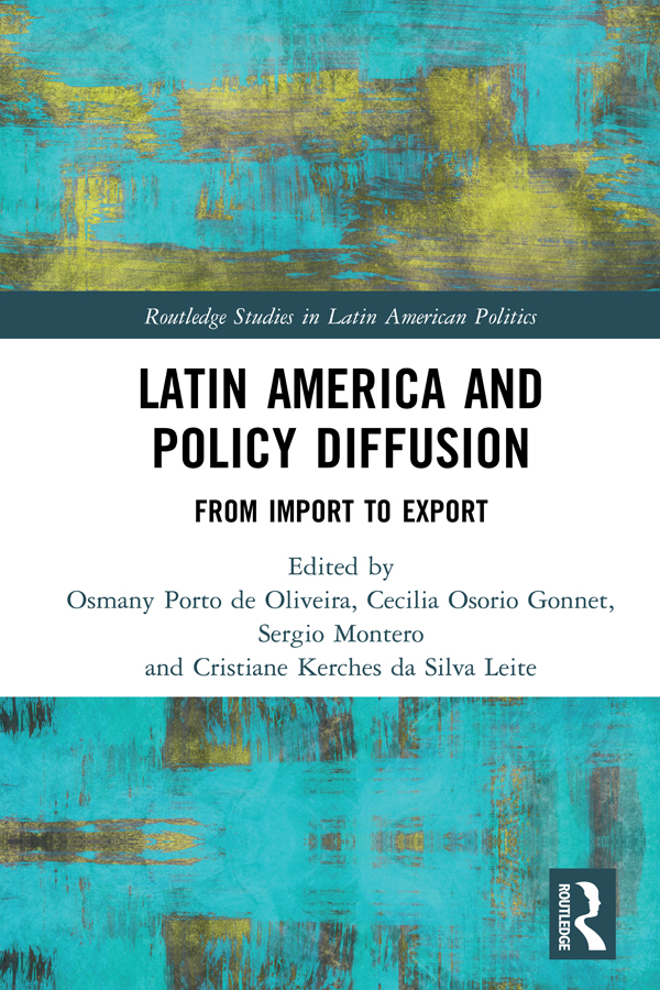 Latin America and Policy Diffusion: From Import to Export book cover