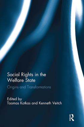 Social Rights in the Welfare State: Origins and Transformations book cover