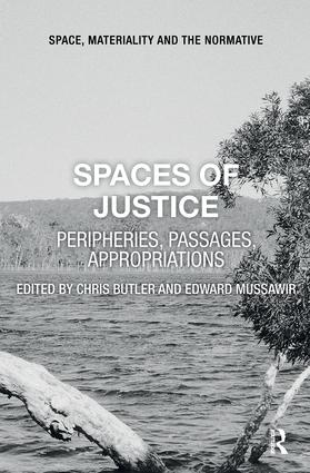 Spaces of Justice: Peripheries, Passages, Appropriations book cover