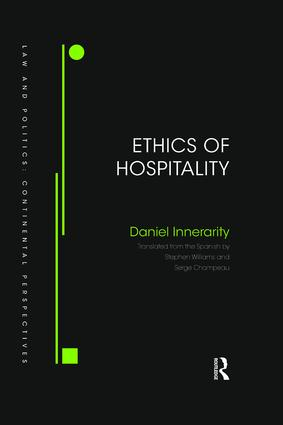 Ethics of Hospitality book cover