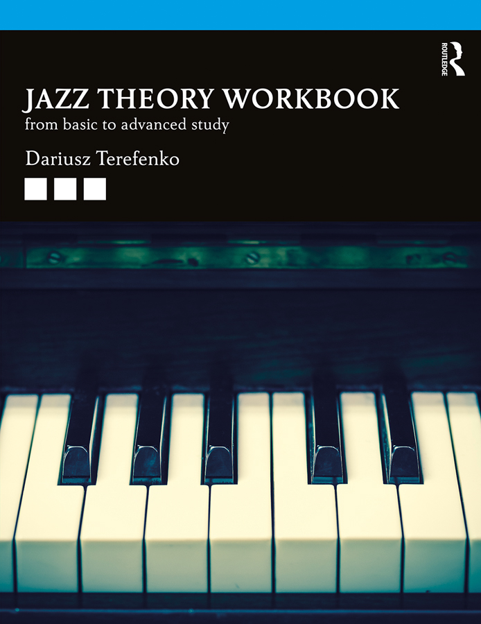 Jazz Theory Workbook: From Basic to Advanced Study book cover