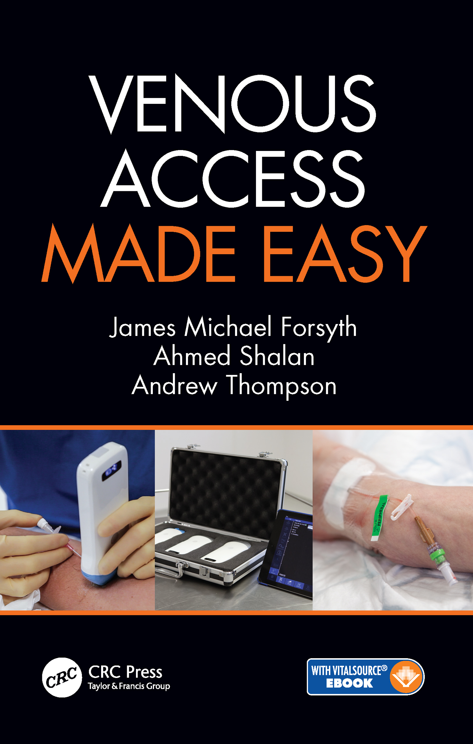 Venous Access Made Easy book cover
