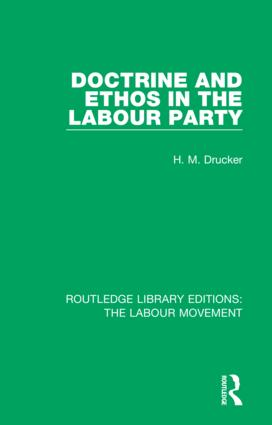 Doctrine and Ethos in the Labour Party book cover