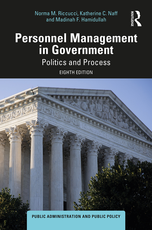 Personnel Management in Government: Politics and Process book cover