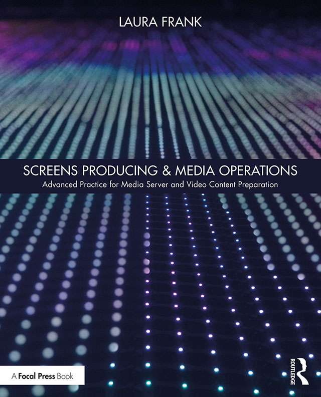 Screens Producing & Media Operations: Advanced Practice for Media Server and Video Content Preparation book cover
