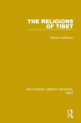 The Religions of Tibet: 1st Edition (Hardback) book cover