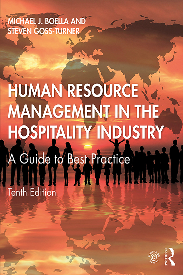 Human Resource Management in the Hospitality Industry: A Guide to Best Practice, 10th Edition (Hardback) book cover