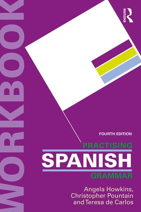 Practising Spanish Grammar: 4th Edition (Paperback) book cover