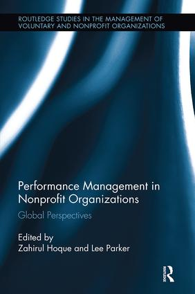 Performance Management in Nonprofit Organizations: Global Perspectives, 1st Edition (Paperback) book cover