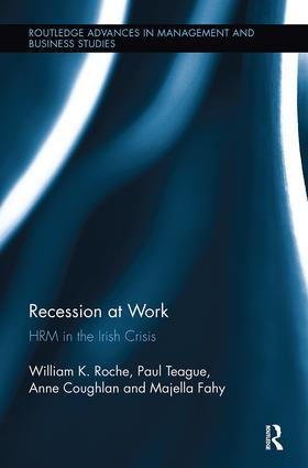 Recession at Work: HRM in the Irish Crisis book cover