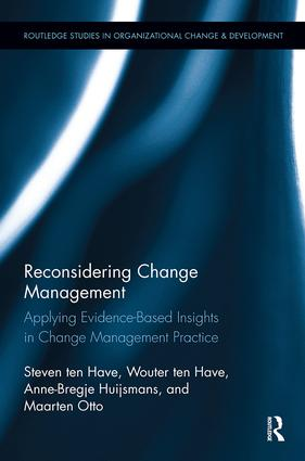 Reconsidering Change Management: Applying Evidence-Based Insights in Change Management Practice book cover