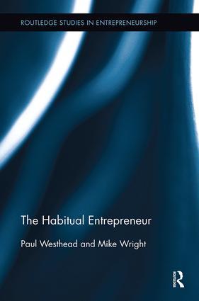 The Habitual Entrepreneur: 1st Edition (Paperback) book cover