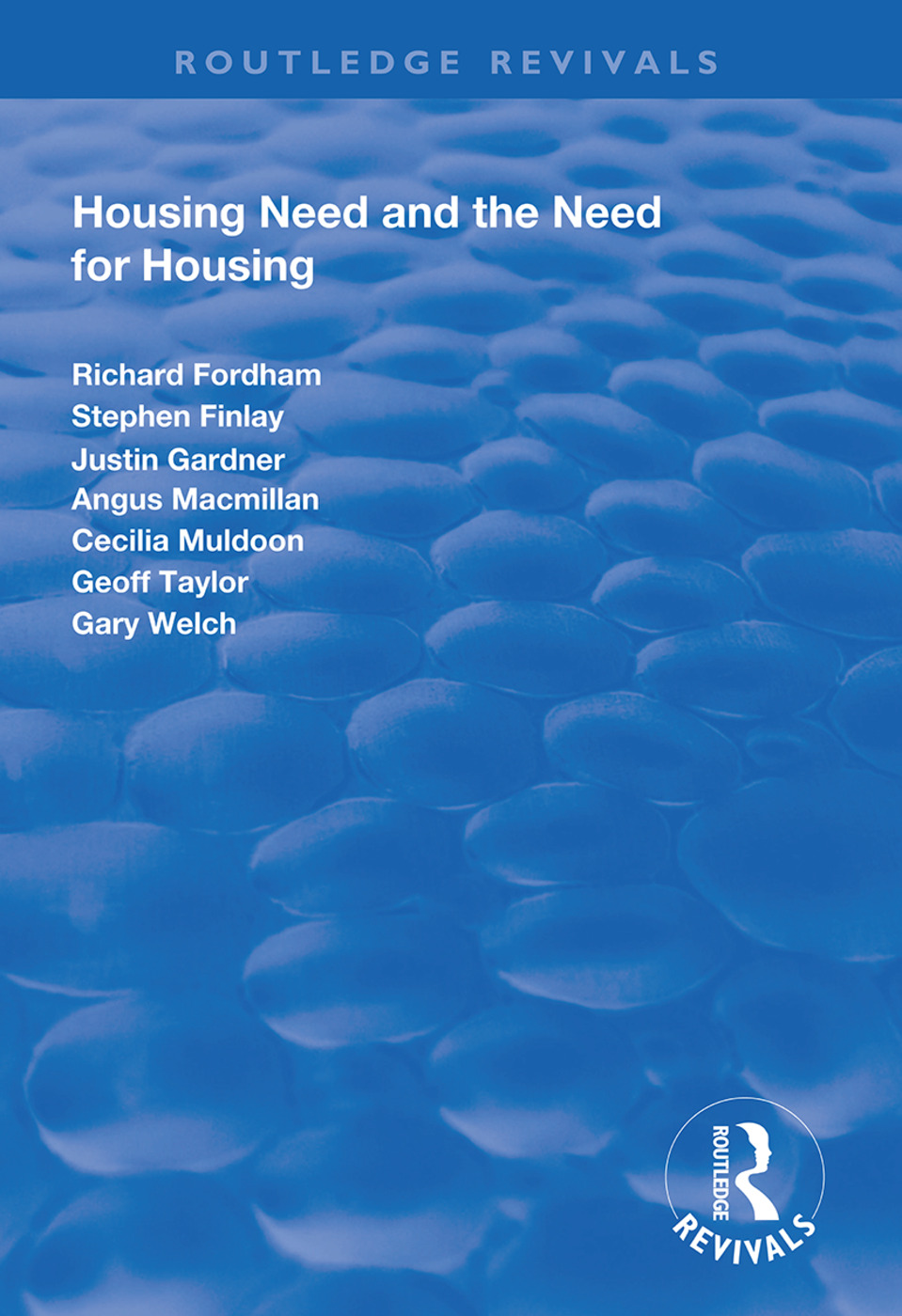 Housing Need and the Need for Housing book cover
