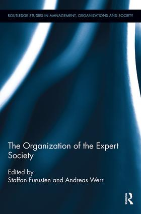 The Organization of the Expert Society book cover