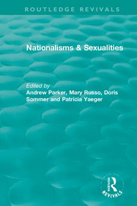 Nationalisms & Sexualities: 1st Edition (Hardback) book cover