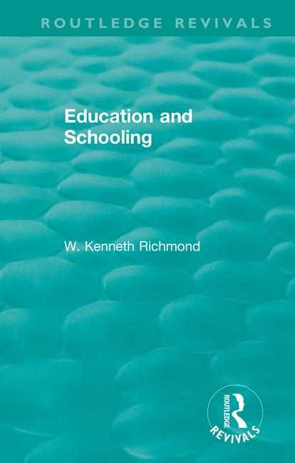 Education and Schooling book cover