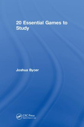 20 Essential Games to Study: 1st Edition (Hardback) book cover