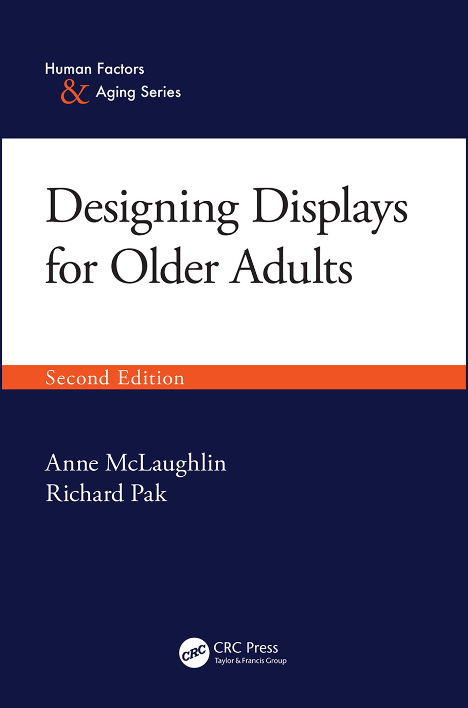 Designing Displays for Older Adults, Second Edition book cover